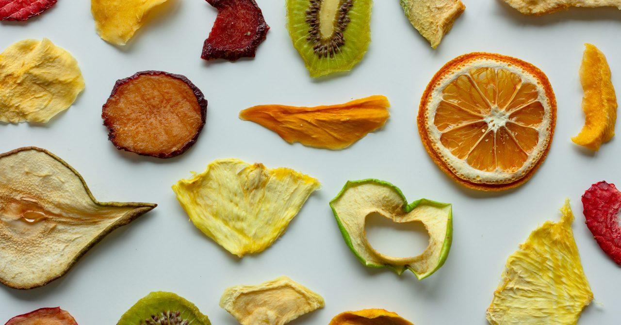健康効果のあるドライフルーツ